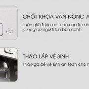 Máy lọc nước nóng lạnh tại Đà Nẵng P3000-V Newlife Hàn Quốc Giá rẻ2
