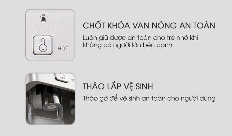 Máy lọc nước Nóng Lạnh New Life P3001 tại Đà Nẵng CHÍNH HÃNG Giá15