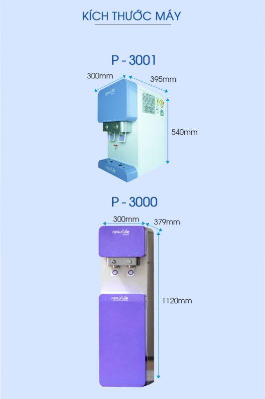 Máy lọc nước Nóng Lạnh New Life P3001 tại Đà Nẵng CHÍNH HÃNG Gía10