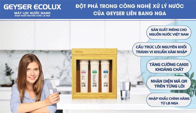 Máy lọc nước Nano Geyser ECOLUX A tại Đà Nẵng CHÍNH HÃNG GIÁ rẻ15