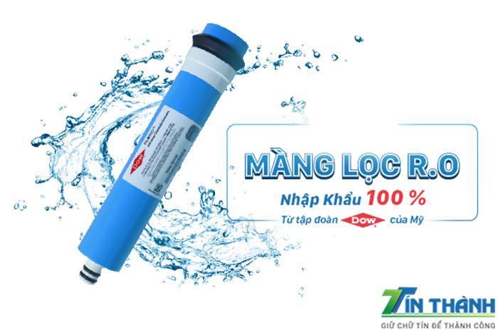 Màng lọc RO của Đại Việt được nhập khẩu 100% từ tập đoàn DOW của Mỹ