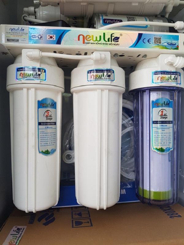 Bộ 03 lõi lọc thô PET Máy lọc nước Newlife UF A1