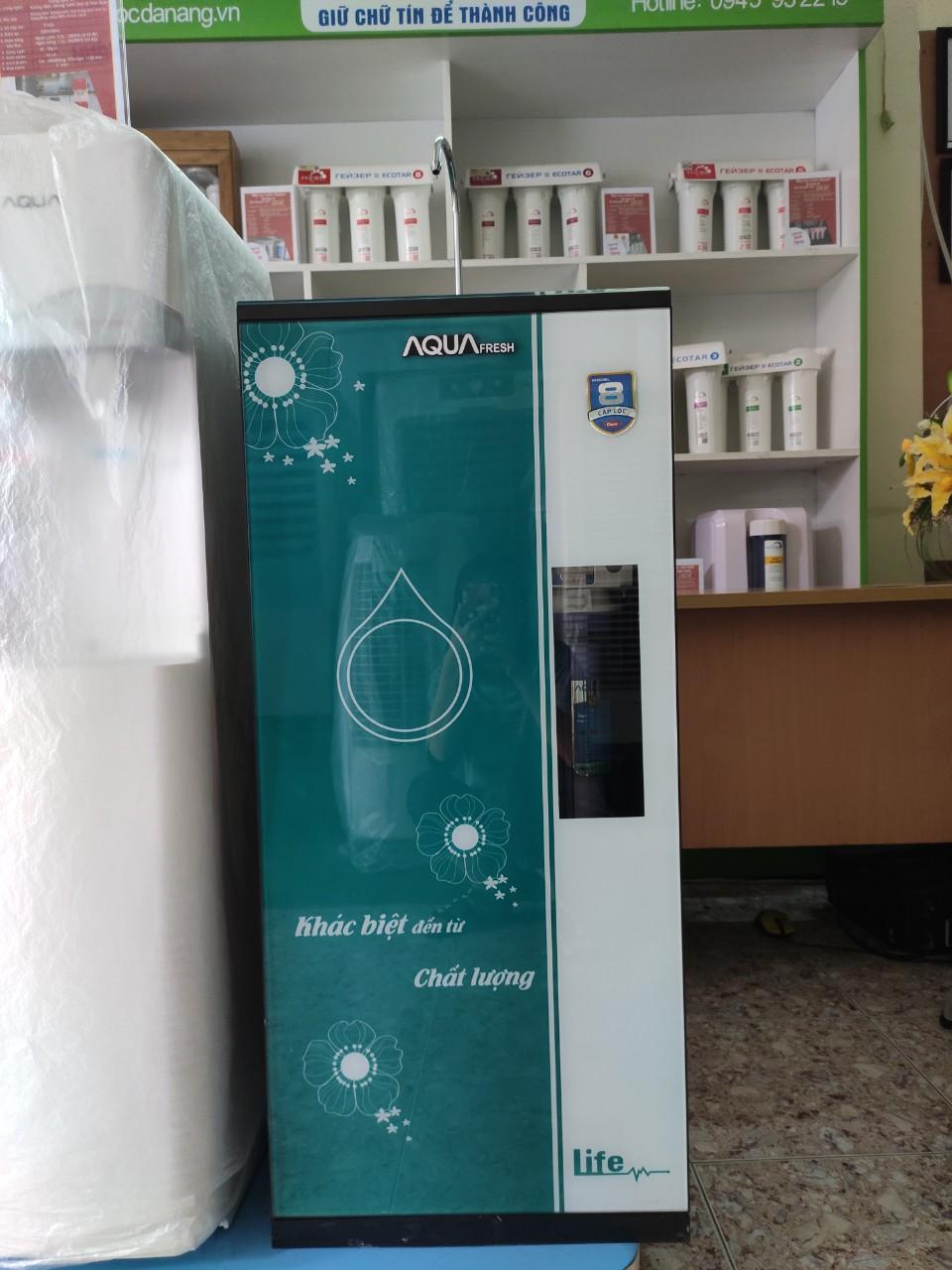 Máy lọc nước Aqua Fresh 8 Cấp Lọc máy lọc nước công nghệ mỹ tại đà nẵng